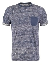 Teddy Smith Trojan Print Tshirt Dark Blue