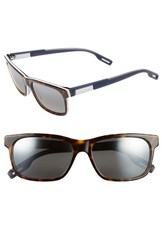 Maui Jim Women's Eh Brah 55Mm Polarizedplus2 Sunglasses Tortoise White And Blue Grey Tortoise White And Blue Grey
