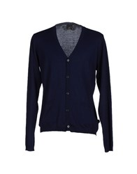 Just Cavalli Knitwear Cardigans Men Dark Blue