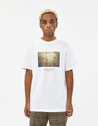 Soulland S S Haakon Printed Tee White