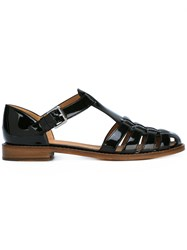 Church's Woven Front Sandals Black