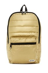 Converse Packable Gold Toned Backpack Metallic