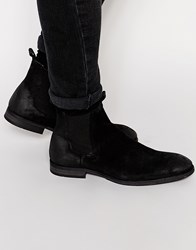 Selected Homme Melvin Leather Chelsea Boots Black