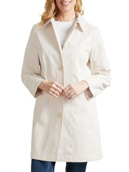 Four Seasons Stripe Sb Coat Naural Cream