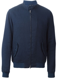 Roberto Collina Denim Bomber Jacket