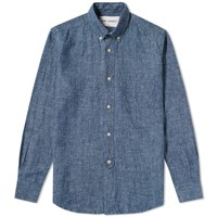 Our Legacy 1940S Button Down Shirt Blue
