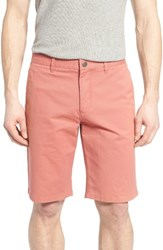 Bonobos Men's Washed Stretch Chino Shorts Rich Coral