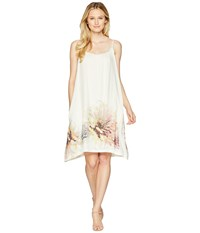 Dylan By True Grit Daydreamer Washed Linen Dress With Pockets Lining Multi