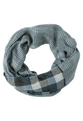 Pier One Snood Blue White Navy