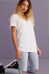 Hanes And Uo V Neck Tee 2 Pack Grey