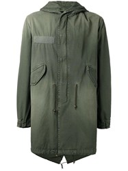 Mr And Mrs Italy Hooded Parka Green