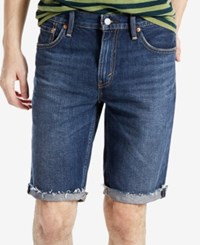 Levi's 511 Men's Slim Cutoff Shorts On The Roof