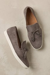 All Black Keaton Suede Loafers Grey