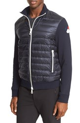 Moncler Men's Down Front Zip Cardigan