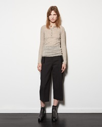 Alexander Wang Ball Chain Twill Trouser