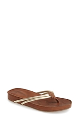 Tommy Bahama 'Takimi' Sandal Women Light Gold