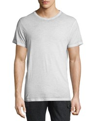 Belstaff Trafford Cold Dyed Short Sleeve T Shirt Pale Mist
