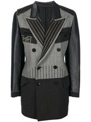 Jean Paul Gaultier Vintage Double Breasted Tailored Jacket Grey