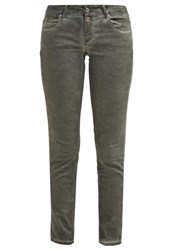 Only Onlhazel Slim Fit Jeans Ivy Green Khaki