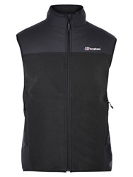 Berghaus Fortrose Pro Men's Fleece Gilet Black