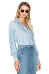 Frame Denim Feminine Button Up Rowan