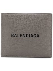 Balenciaga Everyday Square Wallet Grey
