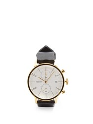 Tsovet Jpt Cc38 Leather Watch Black