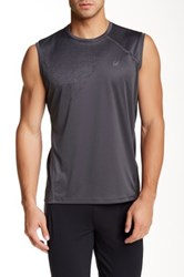 Asics Crew Neck Tank Gray
