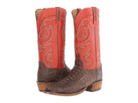 Lucchese Hl1010.73 Sienna Hornback Tail Brick Red Cowboy Boots