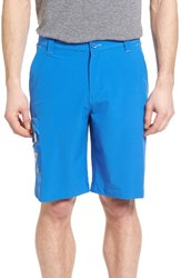 Columbia Men's Terminal Tackle Performance Shorts Vivid Blue Jupiter