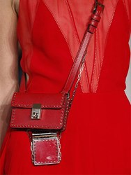 Valentino Mini Micro Studded Leather Shoulder Bag