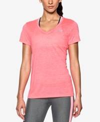 Under Armour Amour Ua Tech Twist V Neck Tee Brilliance