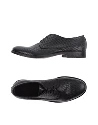 Pawelk's Lace Up Shoes Black