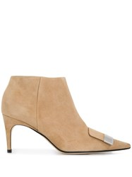 Sergio Rossi Sr1 Ankle Boots Neutrals