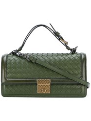 Bottega Veneta Top Handles Bag Green
