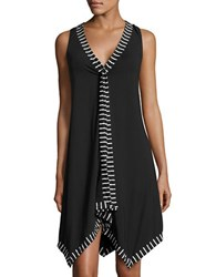 Coco Reef Cover Up Scarf Dress Black