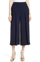 Ted Baker Women's London Katiea Pleat Crepe Culottes
