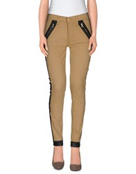 7 For All Mankind Trousers Casual Trousers Women Sand