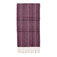 Aspinal Of London Herringbone Cashmere And Merino Scarf