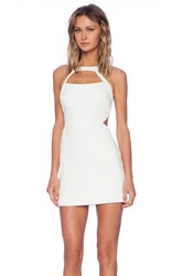 Jay Godfrey Hiro Cut Out Dress Ivory