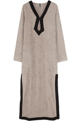 Lisa Marie Fernandez Cotton Terry Long Tunic