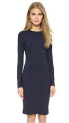 Susana Monaco Emma Long Sleeve Dress Midnight