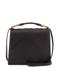 Jason Wu Charlotte Origami Leather Handbag Black
