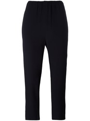 Marni Ruched Trousers Black