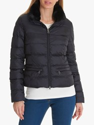 Betty Barclay Quilted Down Jacket Deep Navy