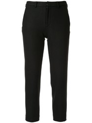 Loveless High Waist Trousers Black