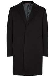 Corneliani Black Wool Coat