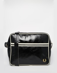 Fred Perry Classic Cross Body Bag In Black