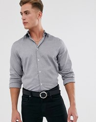 Selected Homme Reg Fit Shirt Grey