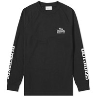 Wood Wood Long Sleeve Han Outsiders Tee Black